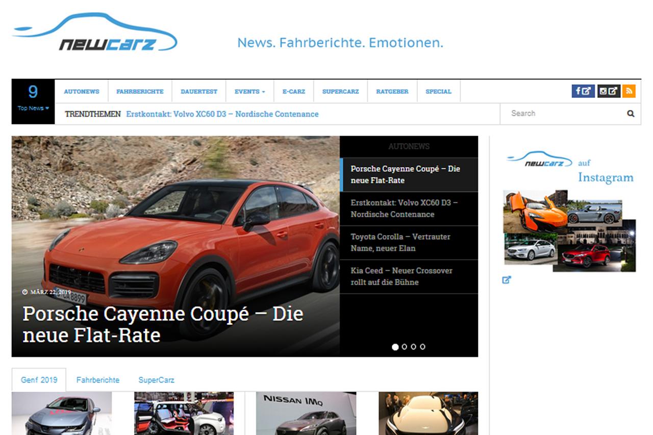 MKHL Media NewCarz Automagazin